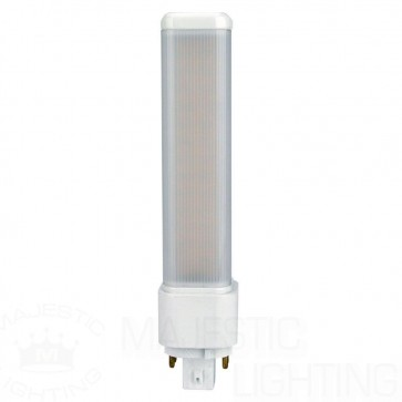 26W Equivalent Warm White (3000K) PL-C Ballast Bypass 4-Pin G24q-3 Non-Dimmable LED Light Bulb