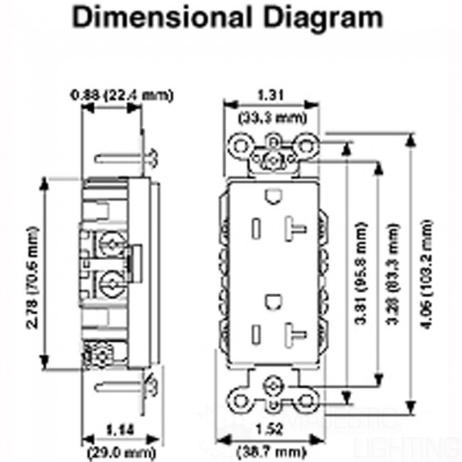 wiring diagrams for electrical receptacle outlets  u2013 do