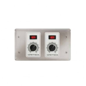 Infratech 30-4033 Electric Heater Controller, 2 Zone Analog Control