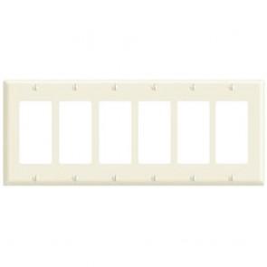 6-Gang Decora Wall Plate
