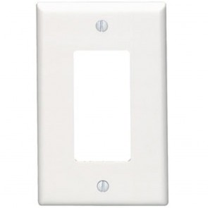 1-Gang Decora Wall Plate, Midway Size