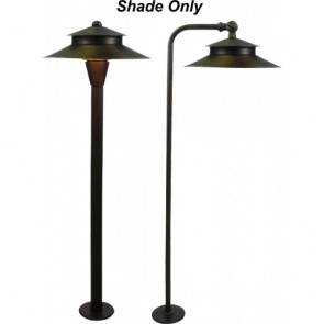 Orbit Landscape Light Shade for B180/B280 Series -Architectural Bronze