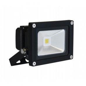 Orbit Flood Light, LED Compact, 10W, 120-277V, 3000K, Cool White - Bronze