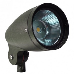 Orbit Flood Light, LED Bullet, 30W, 120-277V, 5000K, Cool White - Bronze