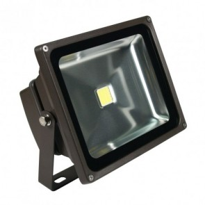 Orbit Flood Light, LED Compact, 30W, 120-277V, 5000K, Cool White - Bronze
