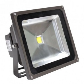 Orbit Flood Light, LED Compact, 50W, 120-277V, 5000K, Cool White - Bronze
