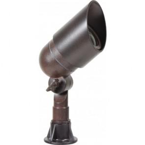 Orbit Directional Light, LED, 6W, Outdoor, Cast Aluminum, 12V, 4700K - Bronze