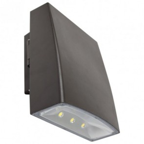 Orbit Wall Pack, LED, Slim, 50W, 120-277V, 5000K, Cool White - Bronze