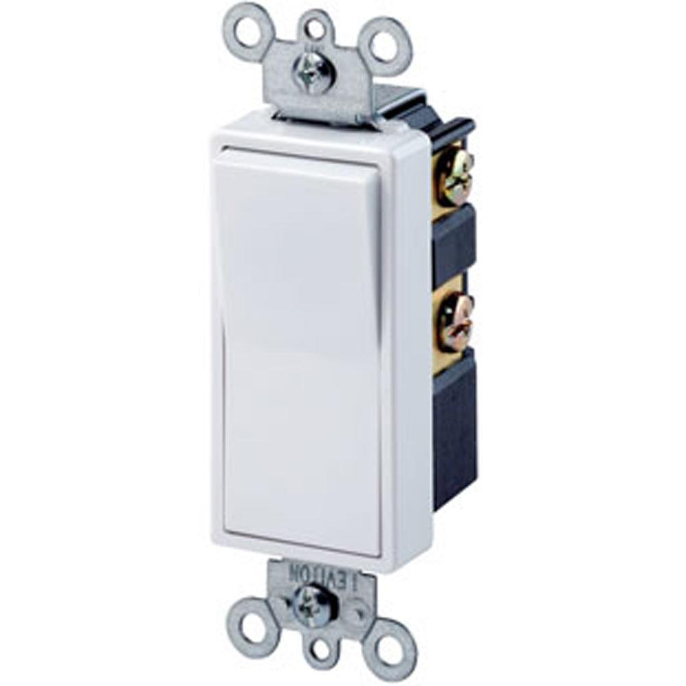 Leviton Rocker Switch | Residential Rocker Switch | Double-Pole Switch