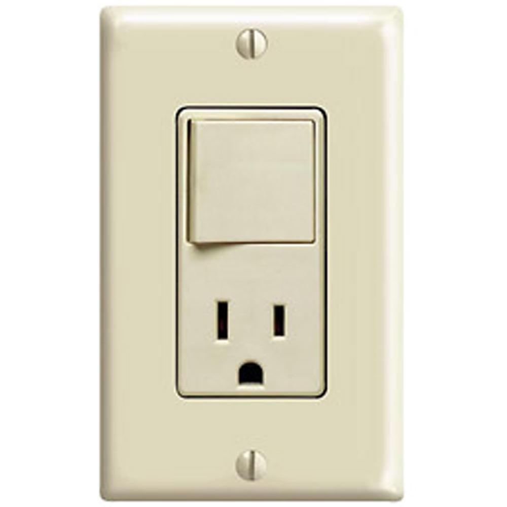 Leviton Combo Switch | Combination Switch/Receptacle | Decora Combo ...