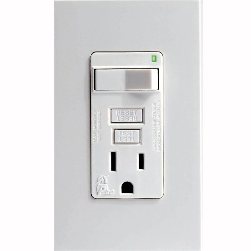 Leviton Combo Receptacle | GFCI Outlet | SmartLock outlet