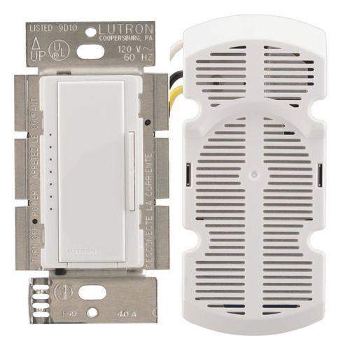 Lutron Ma Fq4fm Wh Fan Speed Control Amp Canopy Module Maestro