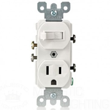 15 Amp Duplex Combination Switch