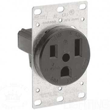 6-50R Flush Industrial Receptacle