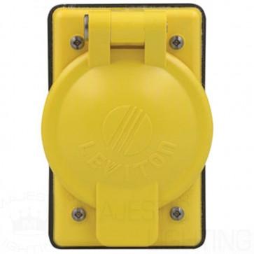 1-Gang Weather-Resistant Locking Single NylonWallplate