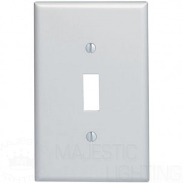 1-Gang Toggle Midway Plastic Wallplate