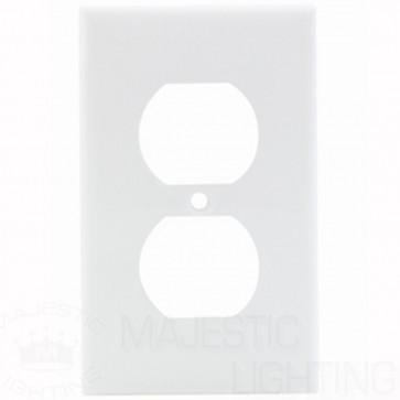 1-Gang Duplex Nylon Wallplate