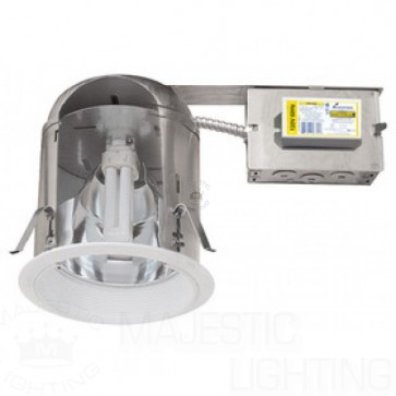 """Elco 6"""" IC Vertical CFL Remodel Downlight 18W IC AIRTIGHT"""