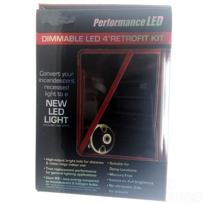 Led Dimmable 5inch Amp 6inch Retrofit Kit Majestic
