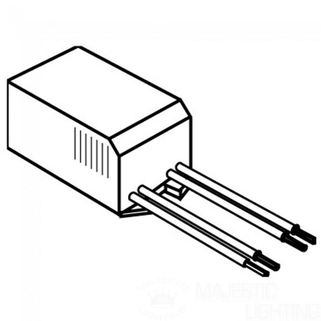Elco Lighting ETR75 75VA//12V//60Hz Electronic Transformer