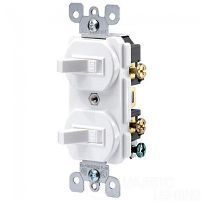 Leviton Toggle Switch | Double Toggle Switch | Toggle Switch