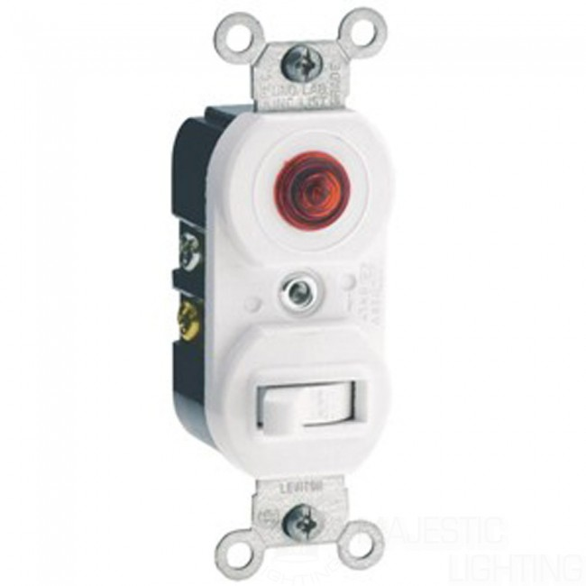 Leviton Pilot Light Switch Pilot Combo Device Pilot