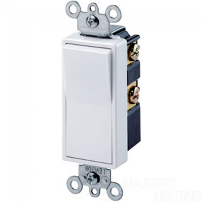 Leviton Rocker Switch | Residential Rocker Switch | Double-Pole Switch