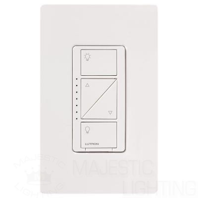 Lutron Pd 6wcl Wh Dimmer Switch