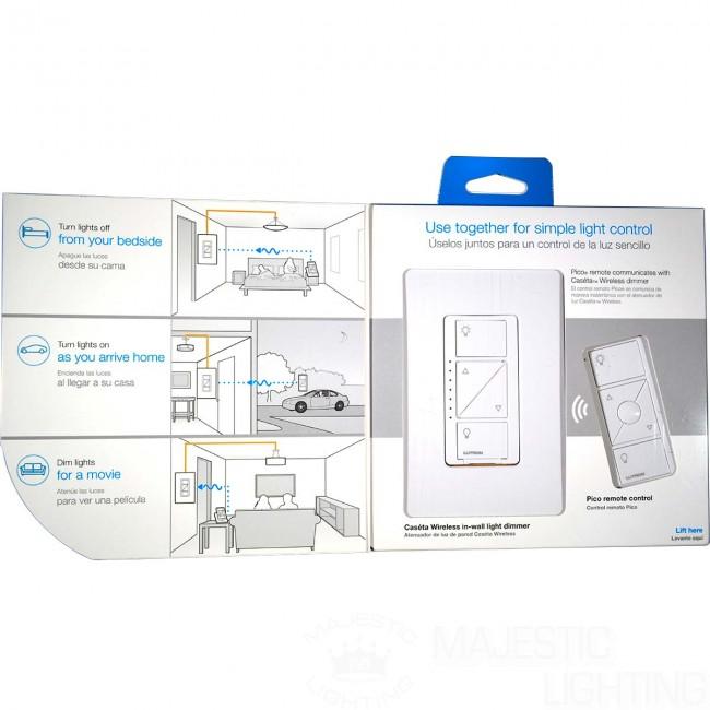 Lutron P Pkg1w Wh Caseta Wireless 600 Watt 150 Watt