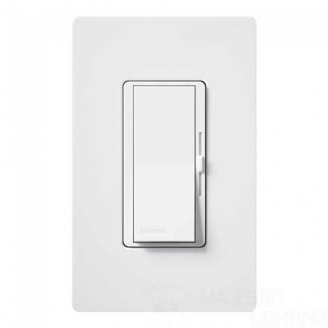 Lutron Dvcl 153p Wh Diva Dimmable Cfl Led Dimmer Wall