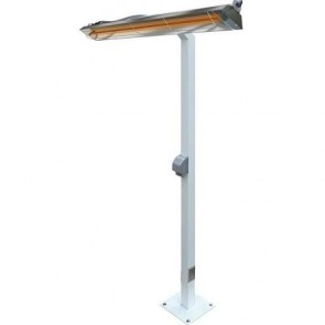 Infratech 22-1255 Electric Heater Mount, W61 Pole Mount - White
