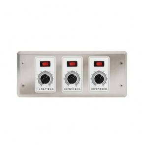 Infratech 30-4034 Electric Heater Controller, 3 Zone Analog Control