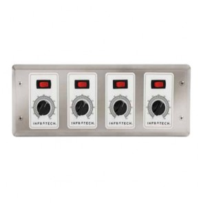 Infratech 30-4035 Electric Heater Controller, 4 Zone Analog Control