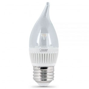 25 Watt Equivalent Chandelier, Dimmable, High Performance LED Household Lights