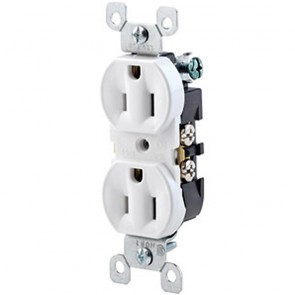 Duplex Receptacle, Quickwire Push-In & Side Wired