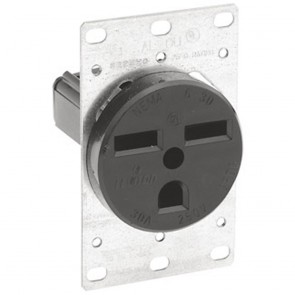 6-30R Flush Industrial Receptacle