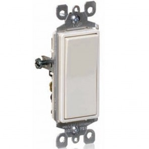 15A Decora Rocker Single-Pole AC Quiet Switch, Residential Grade