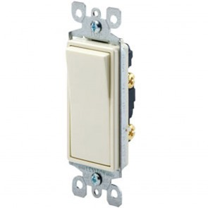 15 Amp Single-Pole Decora Residential Rocker Switch