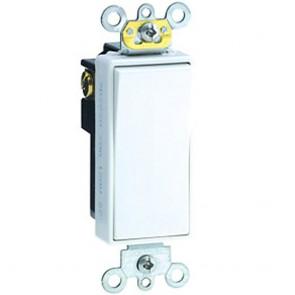 20A Decora Plus Rocker Switch, Single-Pole, Commercial Grade