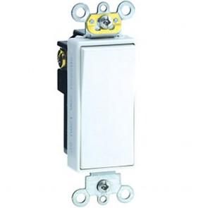 20 Amp Double-Pole Decora Commercial Rocker Switch