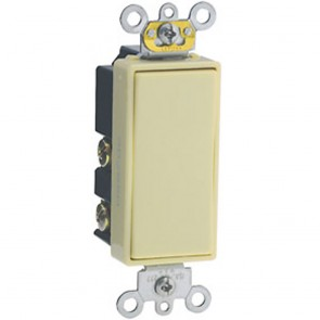 15 Amp Single-Pole Decora Commercial Rocker Switch