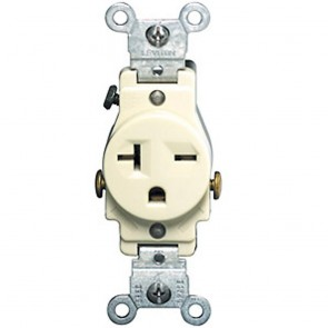 6-20R Single Commercial Receptacle