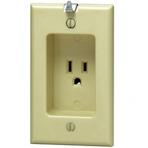 Recessed Single Wall Receptacle