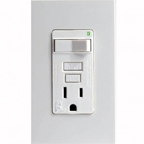 GFCI SmartLockPRO Combination Receptacle with Switch