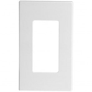 1-Gang Decora Plus Screwless Wall Plate