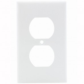 1-Gang Duplex Nylon Wallplate