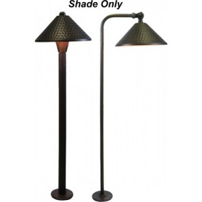 Orbit Landscape Light Shade for B180/B280 Series -Antique Bronze