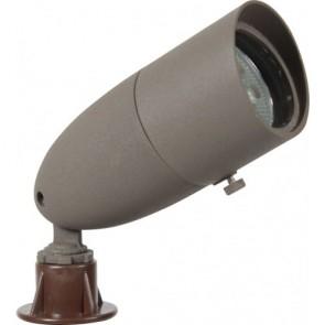 Orbit Directional Light, LED, 6W, Outdoor, Cast Brass, 12V, 3000K - Bronze