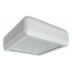 Orbit Ceiling Mount Light, 61W, 120-277V, 4700K, Cool White - White