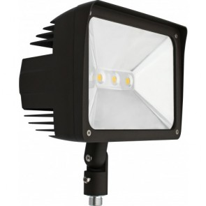 Orbit Flood Light, LED, Premium, 50W, 120-277V, 5000K, Cool White, Knuckle Mount - Bronze